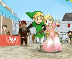 Legend of Zelda, The Minish Cap - Festival Bodyguard By doramsc.