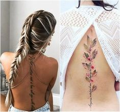 Tattoos for women: totally recommended designs! Spine Tattoos, Back Tattoos, Foot Tattoos, Body Art Tattoos, New Tattoos, Maori Tattoos, Couples Tattoo Designs, Tattoo Designs For Women, Tattoos For Women