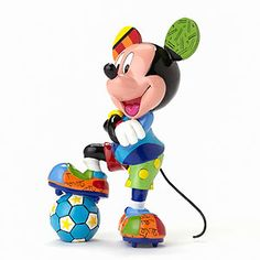 Mickey Mouse - Mickey Soccer - Britto - Romero Britto - World-Wide-Art.com
