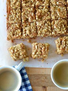 Pear & Brown Butter Blondies