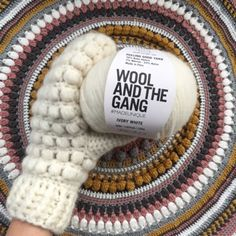 I was so lucky to receive two skeins of this amazing soft yarn fromWool And The Gang. I was trying to decide what to make. Im a huge fan of knitted mittens, but my knitting abilities can be compar…
