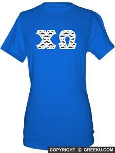 Chi Omega Unisex Shirt with Premium Fabric