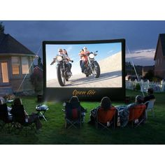 Open Air Cinema 16' Home Cinebox Outdoor Movie Theater System CBH-16
