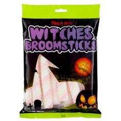 Trick or Treat! This Halloween we have a great range of Trick or Treat sweets for children and adults alike, and all at amazing value. Find the full selection in your local store today Halloween Treat Bags, Halloween Goodies, Halloween 2013, Halloween Items, Witches Broomstick, Marshmallows, Trick Or Treat, Sweets, Shapes