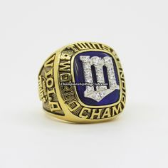 1987 Minnesota Twins World Series Championship Ring. Best gift from www.championshipringclub.com for Minnesota Twins fans. Custom your  personalized championship ring now.