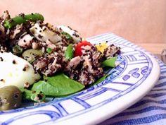 Quinoa salad with tuna fish