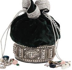 Rosamaria G Frangini | High Clutches | Meera Mahadevia Collection Clutch
