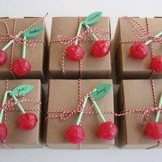 Party favor ideas for a fifties pinup party or rockabilly party.