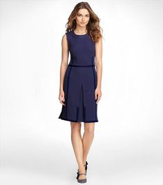 another great simple, this time more practical dress from Tory Burch.
