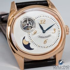 Andreas Strehler Entered Into 'Guinness Book Of World Records' Blood Moon, Watches For Men, Men's Watches, All About Time, Dress Watches, Monat, Accessories, Grasshoppers, Moon