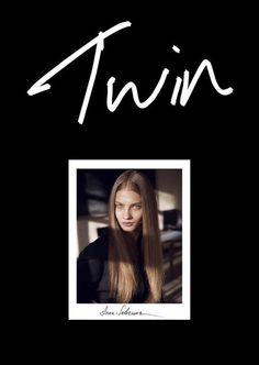 TWIN Magazine Issue 5. Anna Selezneva by Ben Weller