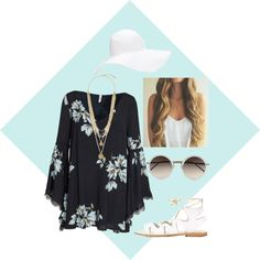 Untitled #9 by rileyschulz on Polyvore featuring polyvore, fashion, style, Free People, Topshop, Vince Camuto, Linda Farrow and Forever 21