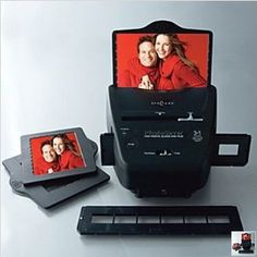 3 in 1 Photo Converter by Digital Prism. Easily converts photos, negatives, and slides into high resolution digital photo files on your computer. $39.95 #electronics #photography #scanner #organization