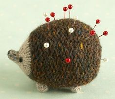 Hedgehog Knitting Pattern by Littlecottonrabbits #Hedgehog #Knitting