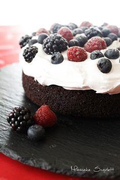 TARTA FRUTAS DEL BOSQUE - BERRIES CAKE