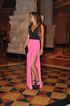 #fashion #fashionista Fabrizia Cosa mi metto??? - fashion blog: Bahamas, Nassau night14 - Vertiginous slit