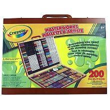 "Crayola - Masterworks Art Case-Espresso - Crayola - Toys""R""Us"