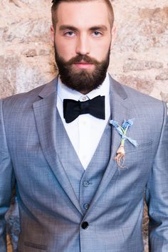 Groom in a Gray Thre