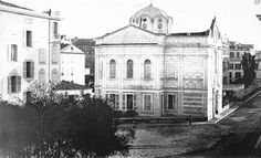 L'église russe de la rue Longchamp . Phioto de Charles Negre 1865.