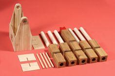 Lumbürr Co - Six-Pack-O-Kubb - Cedar