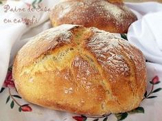 Another pinner wrote: This german potato bread recipe is one of the best recipes for homemade bread I ever tried. Wrap Recipes, Baking Recipes, German Bread, Rustic Bread, Potato Bread, Good Food, Yummy Food, Bread Bun, Bread And Pastries