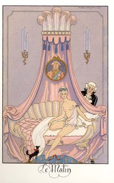 """𝓂𝒶𝓇𝑔𝒶𝓊𝓍 on Twitter: """"my newest obsession are Georges Barbier's illustrations… """""""