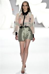 Sfilata #CarolinaHerrera #NewYork - Collezioni Primavera Estate #2013 - #Vogue