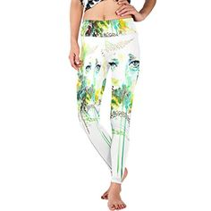 ALIEN PP Paint Face Elastic Force Loose DIY Printing Yoga Pants >>> You can get more details by clicking on the image.(This is an Amazon affiliate link and I receive a commission for the sales)