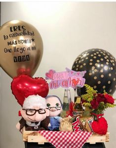 Balloon Bouquet, Gift Hampers, Gift Bags, Floral Arrangements, Nerdy, Christmas Bulbs, Birthday Gifts, Balloons, Anniversary