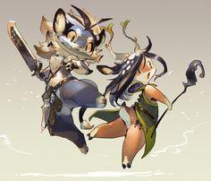 Warrior and Sorcerer