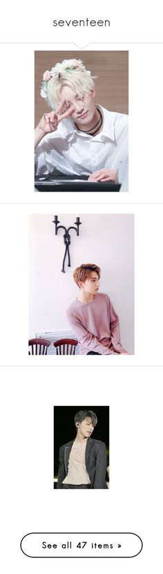 """""""seventeen"""" by k-0326 ❤ liked on Polyvore featuring home, home decor, kitchen & dining, jeonghan, seventeen, kpop, people, fillers, text and phrase"""