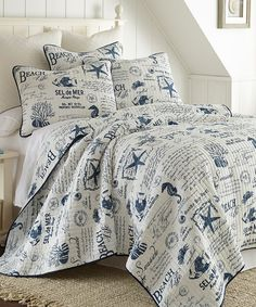 Look at this Beach Life Quilt Set on #zulily today!