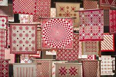 Red & White Quilts - Infinite Variety. Ein ausführlicher Buchtipp mit unglaublicher Hintergrundstory