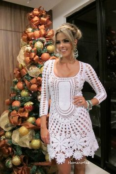 Irish crochet &: Платье от KATIA PORTES