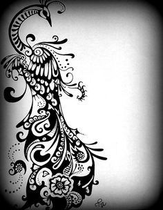 peacock tattoo paisley - Google Search                                                                                                                                                                                 More