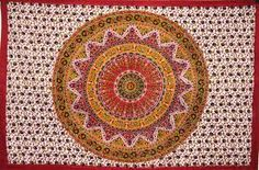 I love tapestries, the more colourful the better and this is one I wish I had on my wall!