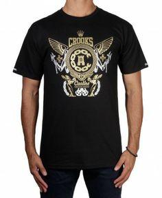 Crooks & Castles - High Society T-Shirt - $32