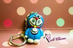 Doraemon  Polymer Clay #bellecharms  #charm #doraemon #handmade #clay #polymer