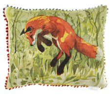 Jumping Fox Cushion By Voyage Maison http://www.abentleycushions.co.uk/detail.asp?pID=8569