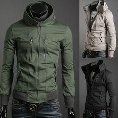 Vintage Slim Fit Zip Up Jacket $63