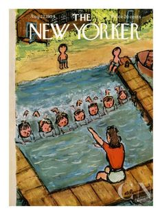 Issue of #TheNewYorker from my aunt's birthday  August 21, 1954
