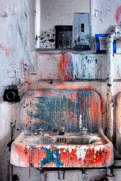 Art studio sink!