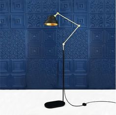 Stylish, sleek and functional, The Sliema Floor Lamp is everything you need in a contemporary floor lamp. This floor lamp features an adjustable arm controlled by a centre swivel point that can be fixed to your desired height and projection. The beauty of this adjustable lamp is you can change the whole look of the lamp from the optional adjustment swivel. With a modern matte black and polished brass finish, this floor lamp will make any space look updated and sophisticated