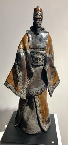 PAUL BECKRICH (CERAMIQUE) - Galerie Rikia FerrerGalerie Rikia Ferrer Ferrat, Art Sculpture, African Art, Character Design, Arts And Crafts, Asian, Orientation, Kenzo, Inspiration