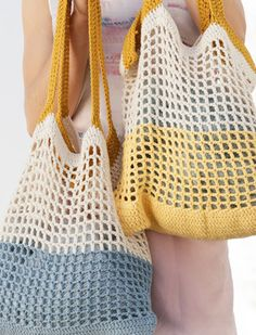 "New Cheap Bags. The location where building and construction meets style, beaded crochet is the act of using beads to decorate crocheted products. ""Crochet"" is derived fro Crochet Loop, Bag Crochet, Crochet Handbags, Free Crochet, Crochet Beach Bags, Spring Bags, Summer Bags, Straw Handbags, Market Bag"