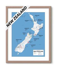 Regional Wine Appellations of New Zealand