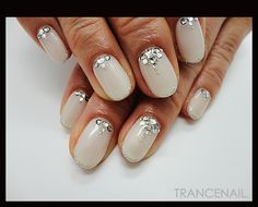 pretty for wedding day nails