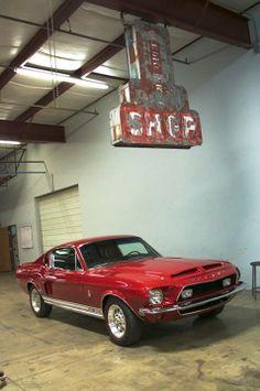 Gas Monkey Garage - 1968 Shelby Mustang.
