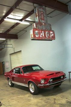 Gas Monkey Garage - 1968 Shelby Mustang.
