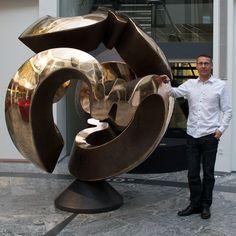 Bronze sculpture by Jens Ingvard Hansen